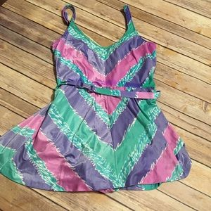 VTG Swim Dress 80s